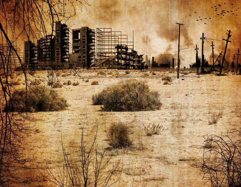 Tło - Jądrowa apokalipsa ilustracji