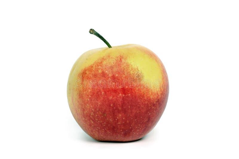 tło jabłczany biel zdjęcie stock