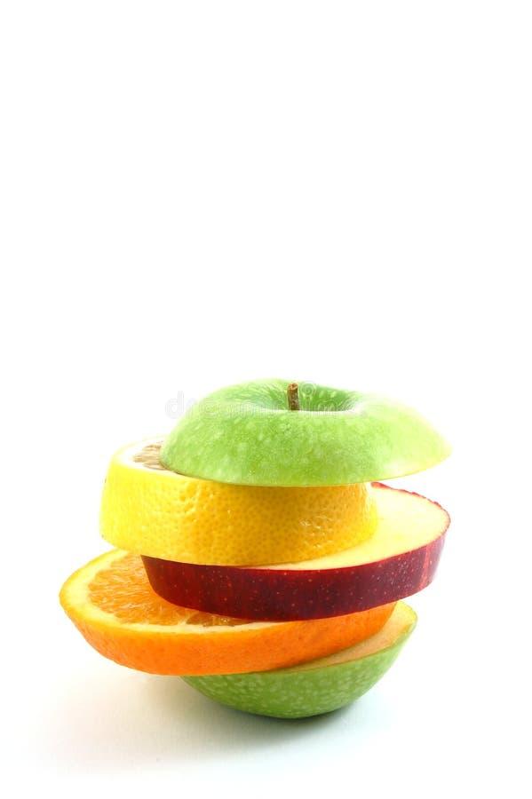 tło jabłczany biel zdjęcia stock