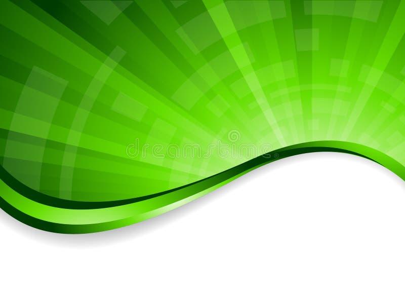tło jaskrawy - zieleń ilustracja wektor