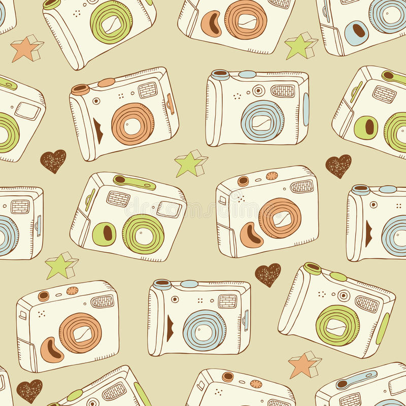 tło kamery royalty ilustracja