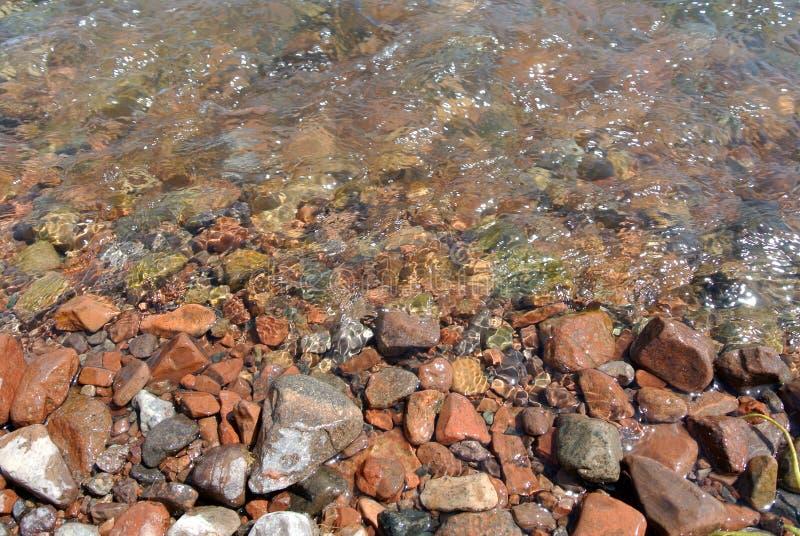 tło kamienie halni naturalni rzeczni zdjęcia royalty free