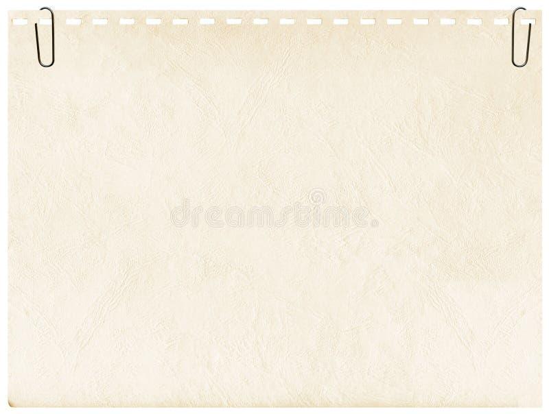 tło klamerki notatnika strona fotografia royalty free