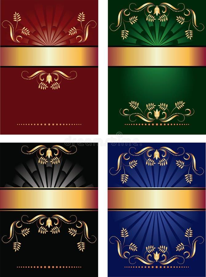 tło kolekci wektor royalty ilustracja