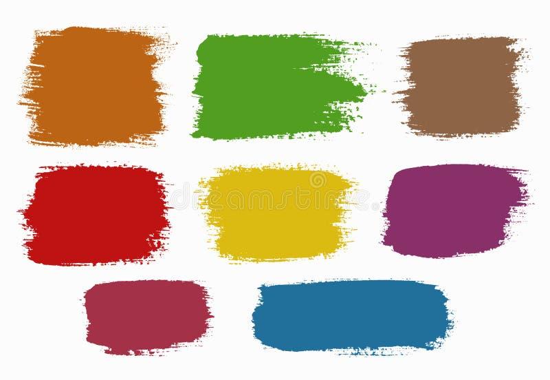 tło kolorowy grunge illustrationvv wektor ilustracja wektor