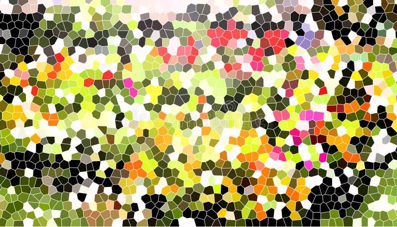 Tło kolorowy lekki witraż obrazy stock