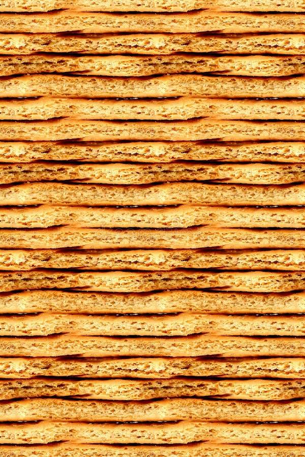 tło krakers Graham bezszwowy zdjęcia stock