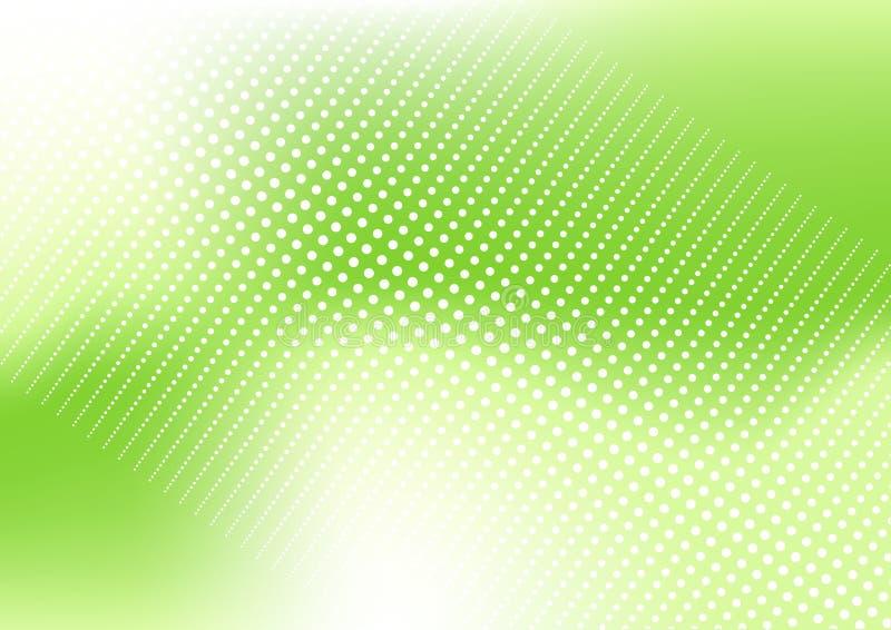tło kropkująca zieleń royalty ilustracja