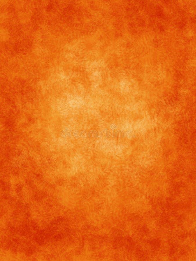 tło krzewów pomarańczowe ilustracji
