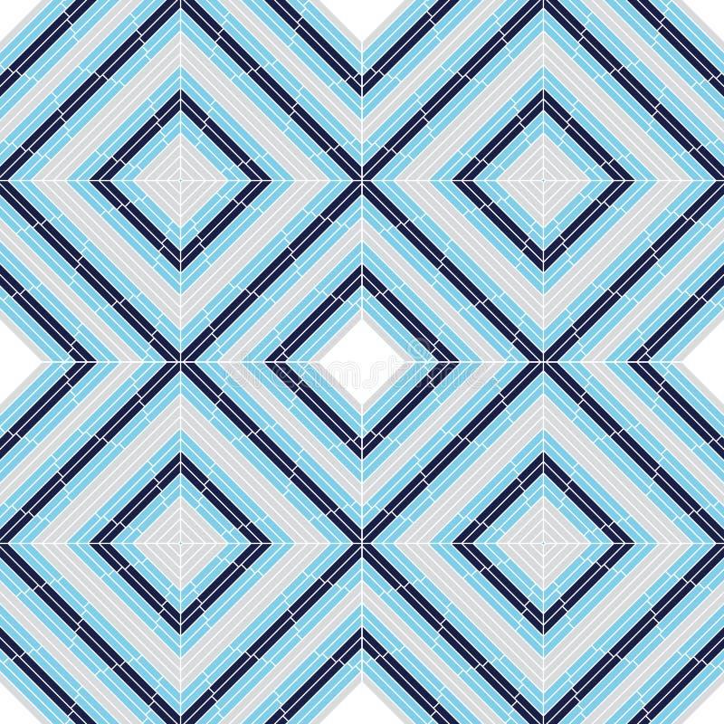 tło kwadrat ceramiczny bezszwowy royalty ilustracja