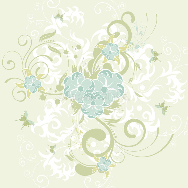 tło kwiat ilustracji