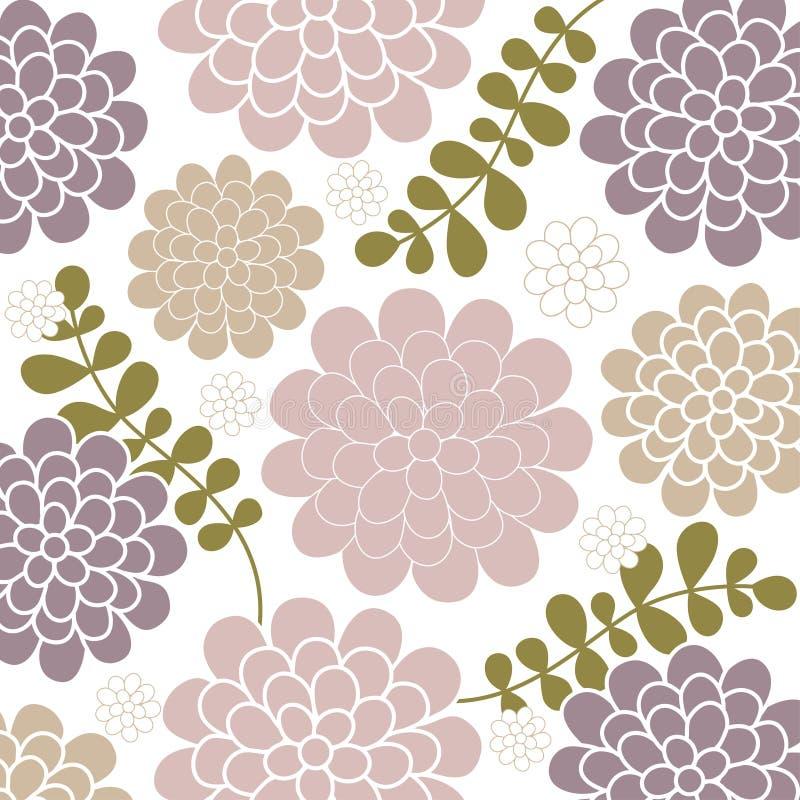 tło kwiatu wektor royalty ilustracja