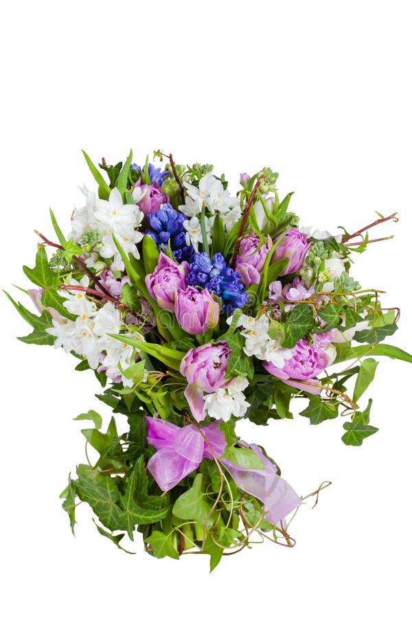 tło kwiaty odizolowywali biel obrazy stock
