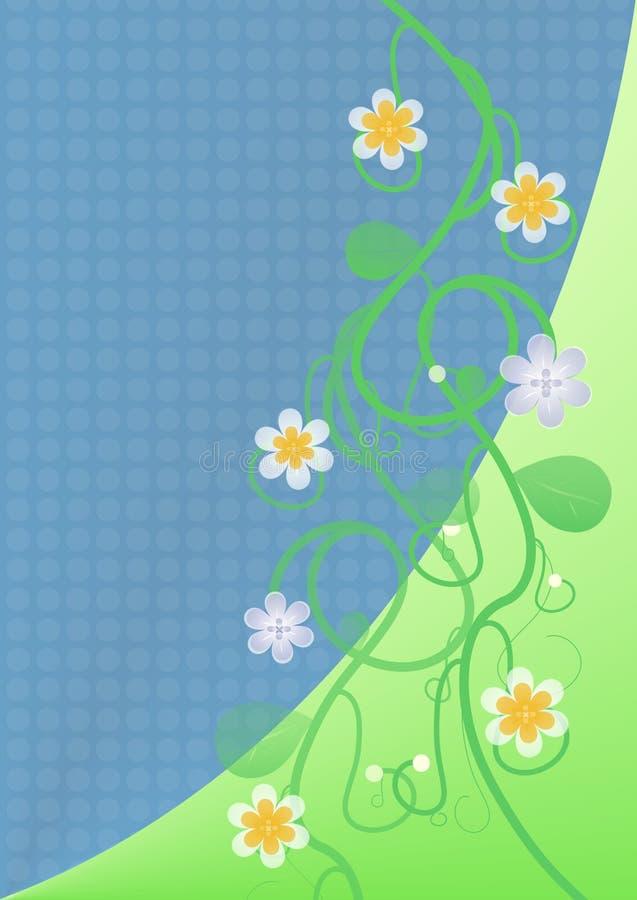 tło kwiecista wiosna ilustracji