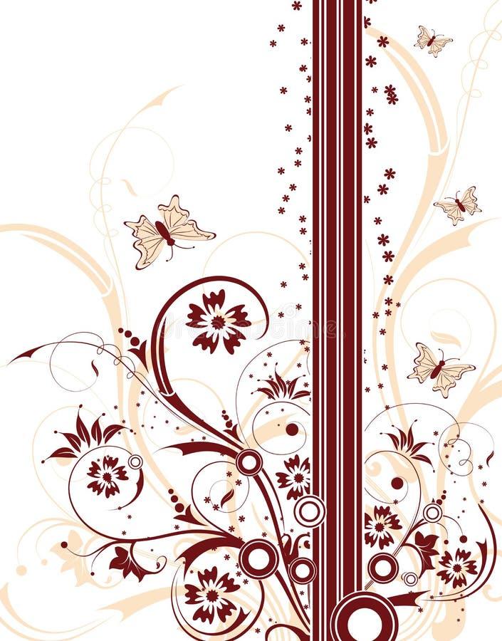 tło kwiecisty abstrakcyjne royalty ilustracja