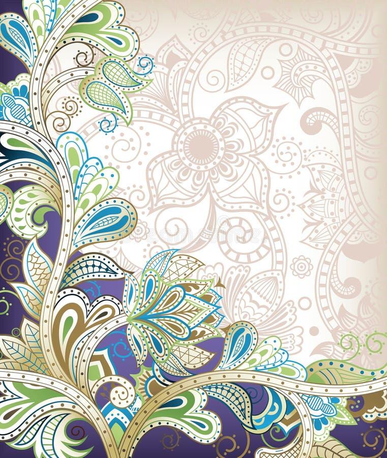 tło kwiecisty abstrakcyjne ilustracja wektor