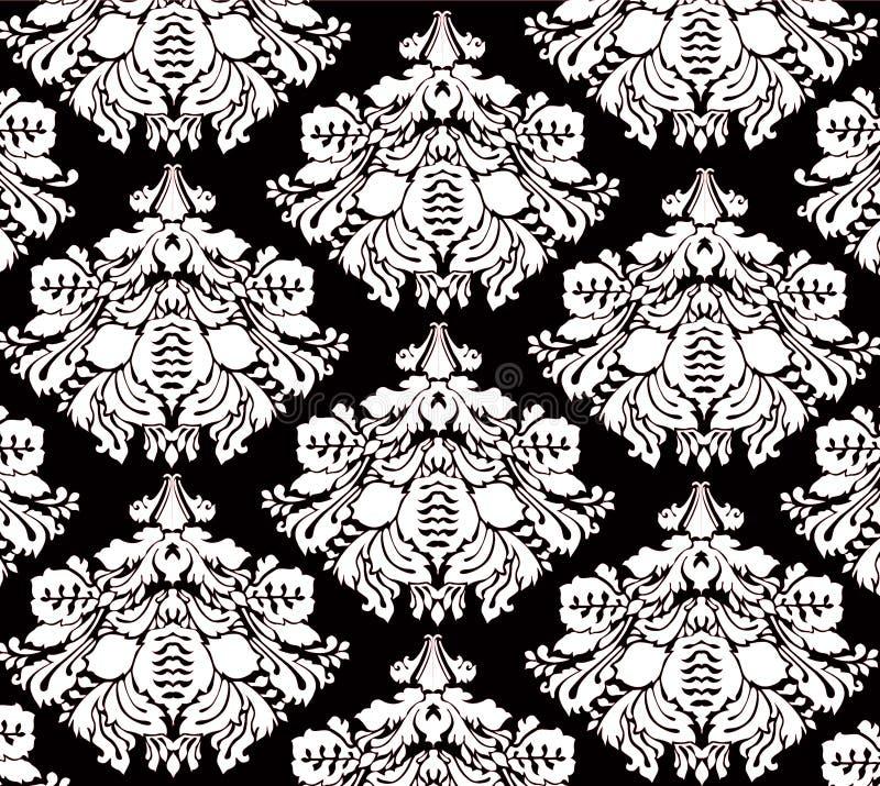 tło kwiecisty wzór royalty ilustracja