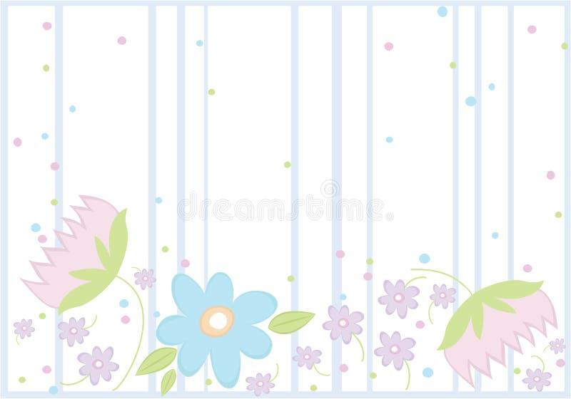 tło kwitnie wiosna ilustracja wektor