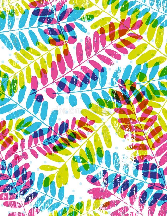 tło leafs sylwetka wektor ilustracja wektor