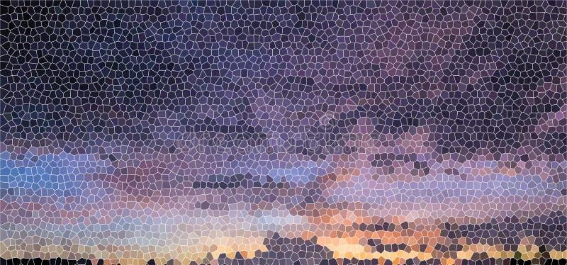 Tło lekkie witraż purpury obrazy royalty free