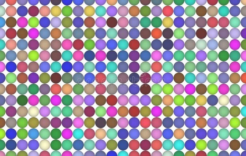 Tło lub tło, kształta wzór, dobry dla projekt tekstury Generatywny, grupowy, wielokrotności & sfero, ilustracji