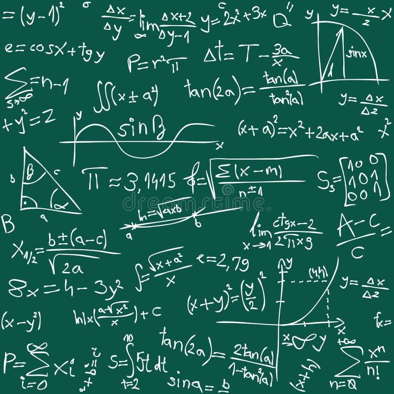 tło matematyka ilustracji