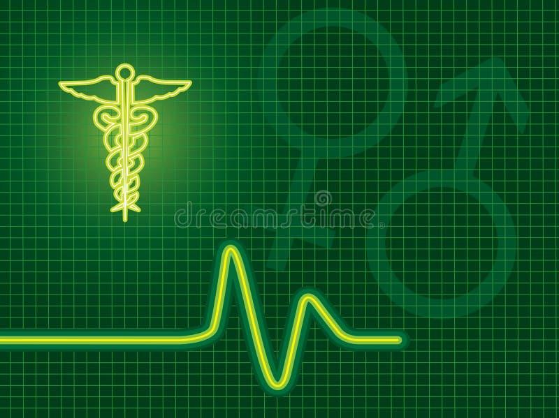 tło medyczny ilustracja wektor
