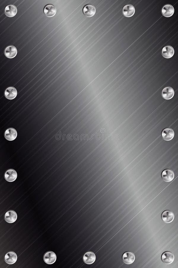 tło metal royalty ilustracja