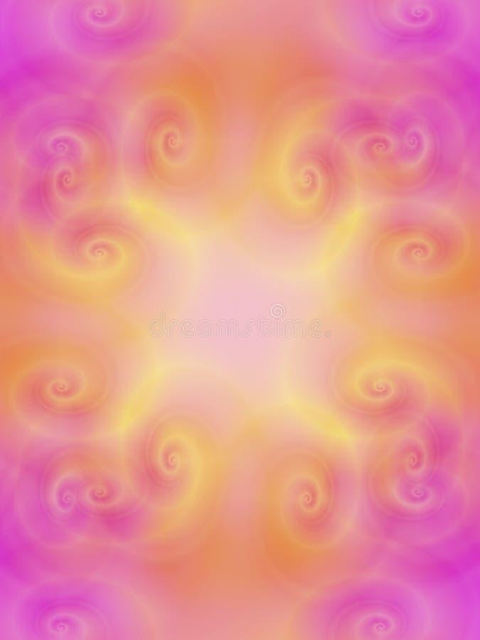 tło miękka, różowe dostrzegasz matematykę, co ilustracja wektor