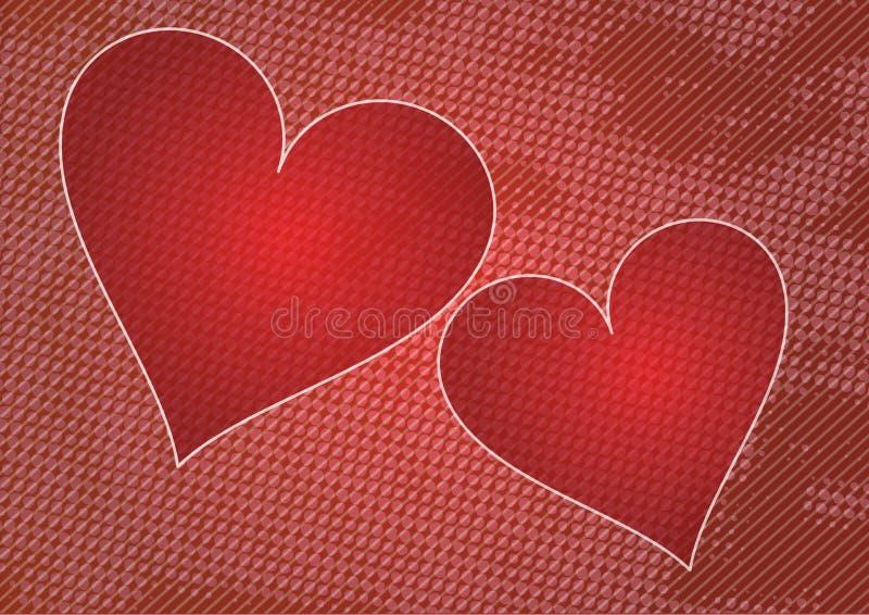 tło miłość royalty ilustracja