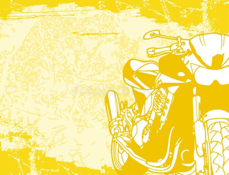 tło motocykla ilustracji