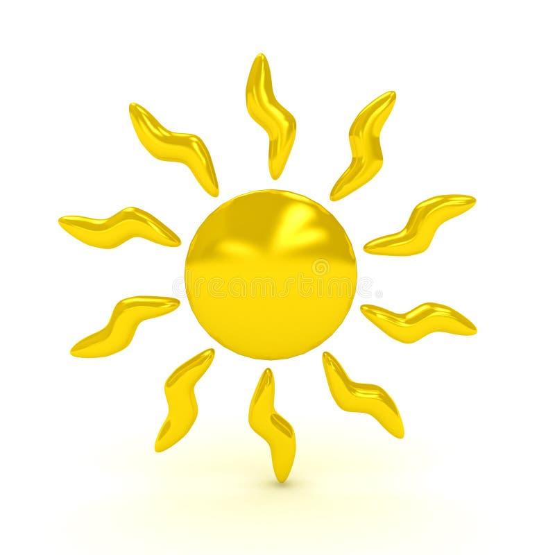 tło nad symbolu pogody biel ilustracji