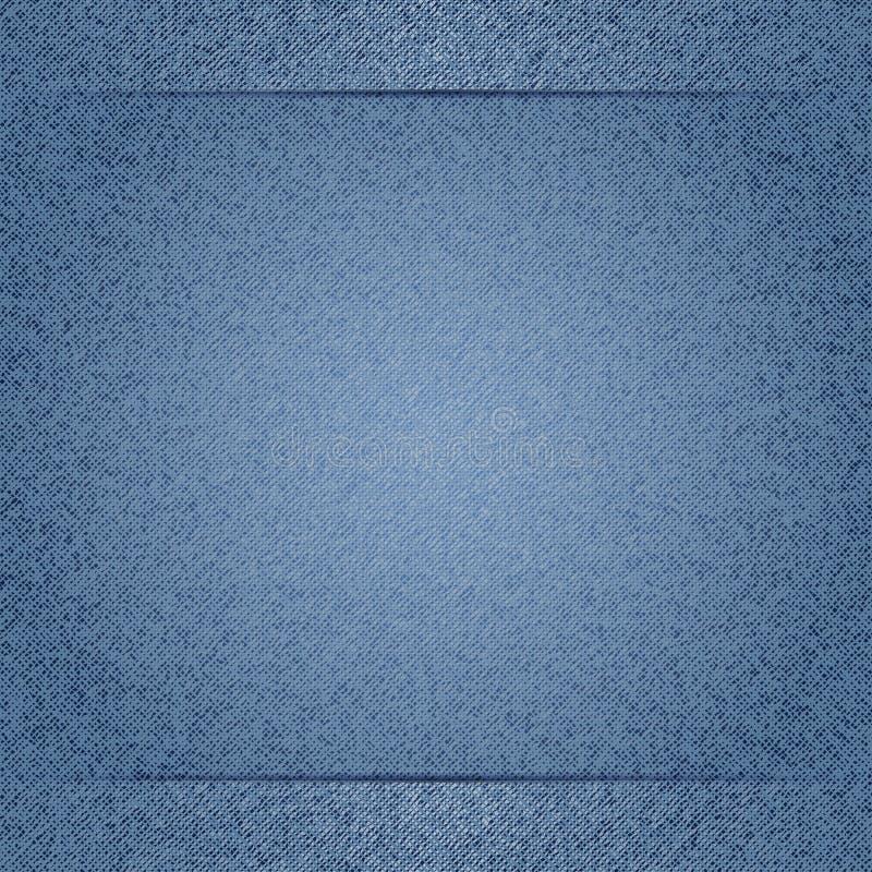 tło niebiescy dżinsy royalty ilustracja