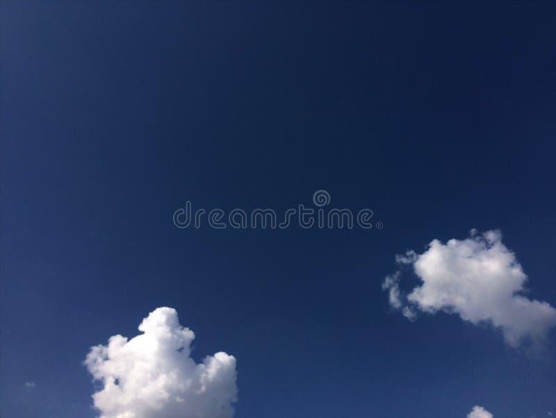 Tło niebieskiego nieba fotografia stock
