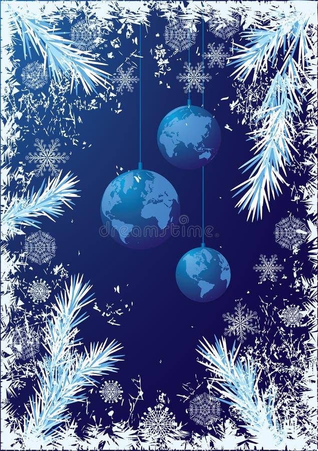 tło nowy rok ilustracja wektor