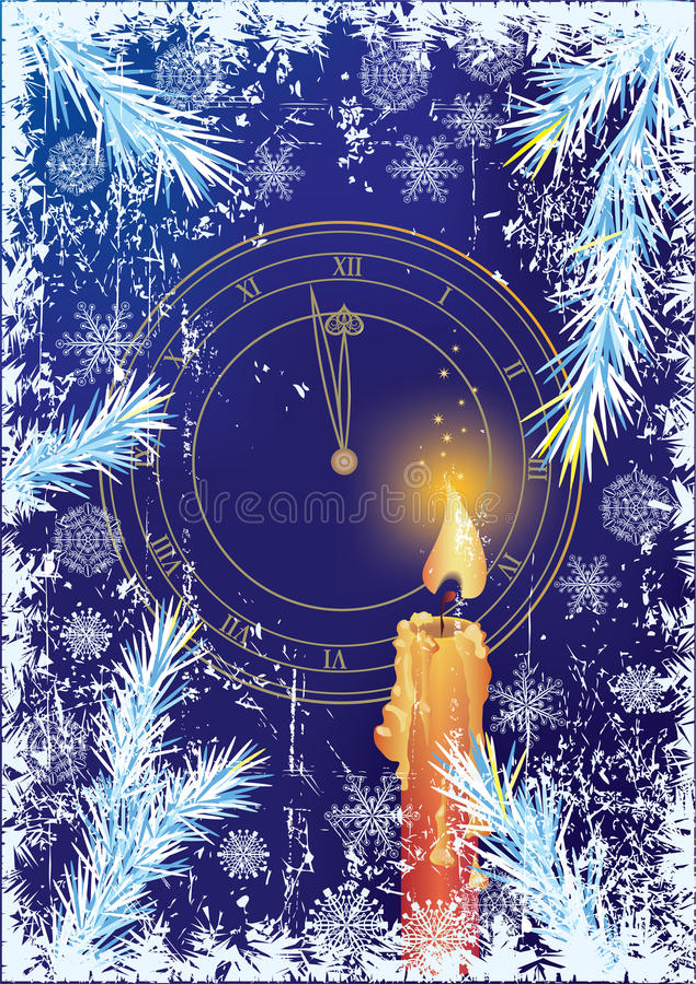 tło nowy rok ilustracji