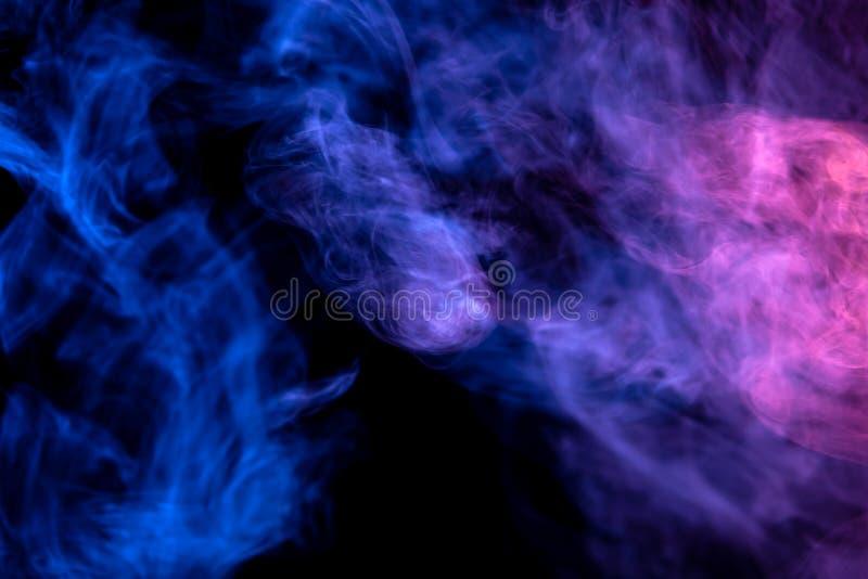 Tło od dymu vape royalty ilustracja