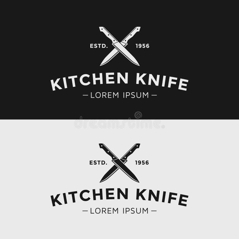 tło odizolowywający kuchennego noża światła przedmiot cieni pracownianego biel royalty ilustracja
