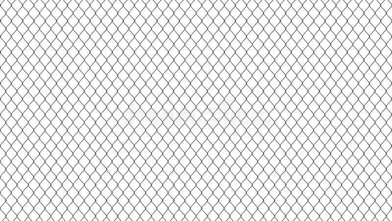 Tło odizolowywający na białym tle metal siatka ilustracja wektor