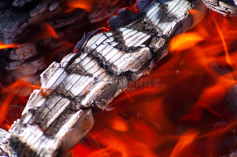 tło ogień obrazy stock