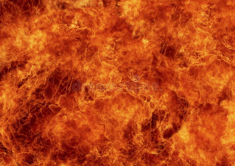 Tło ogień obraz royalty free