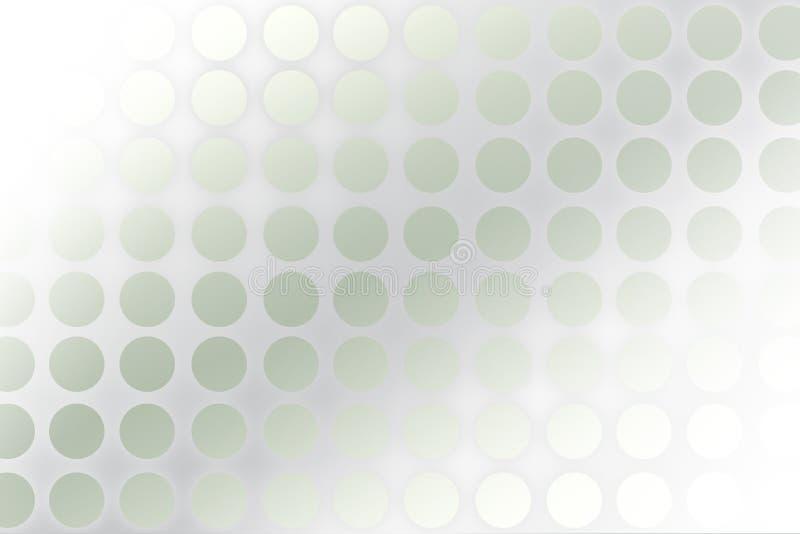tło okrąża kropki ilustracja wektor
