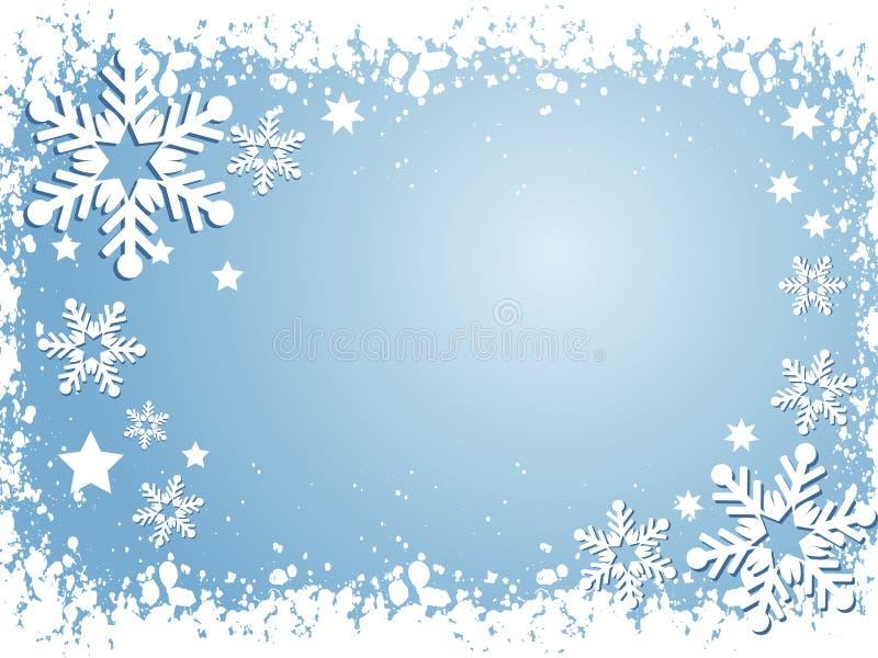 tło płatek śniegu