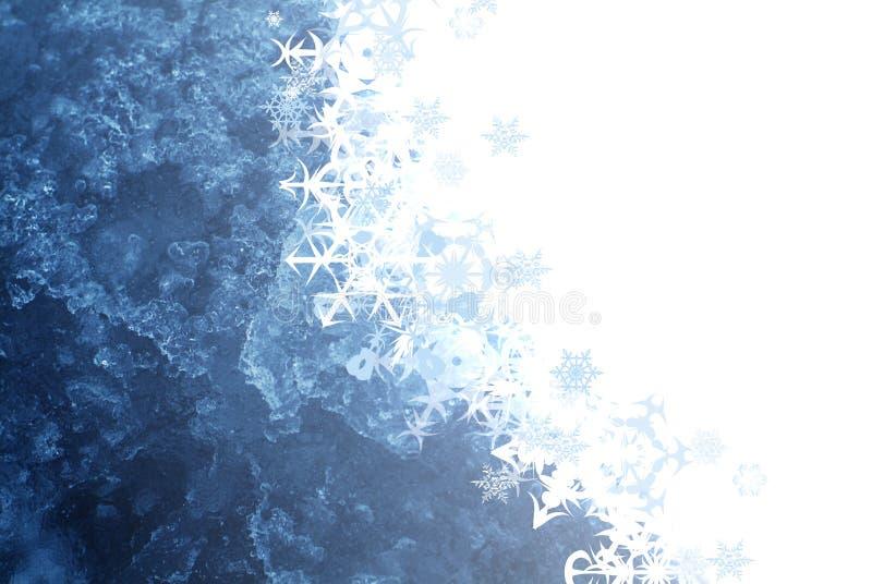 tło płatek śniegu ilustracja wektor