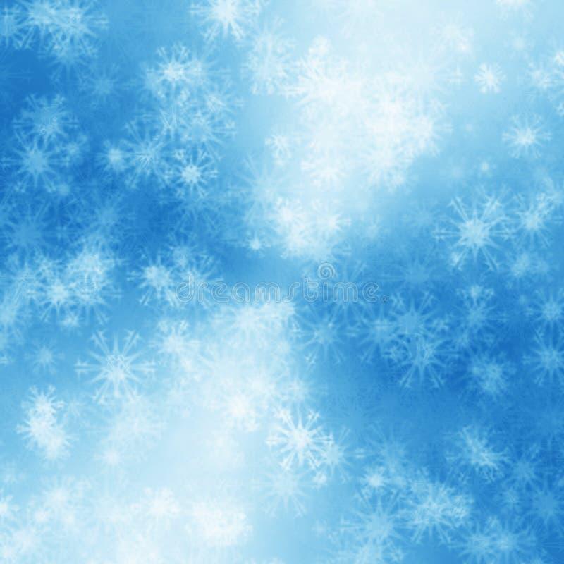 tło płatek śniegu ilustracji