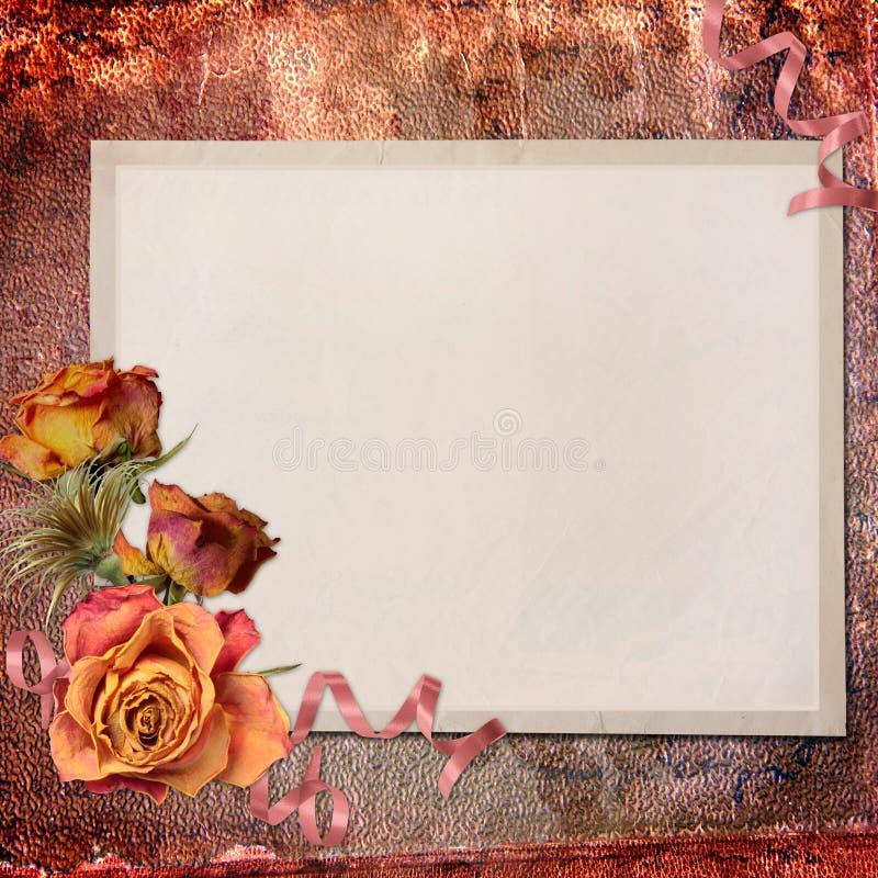 tło papier pusty nutowy textured ilustracja wektor
