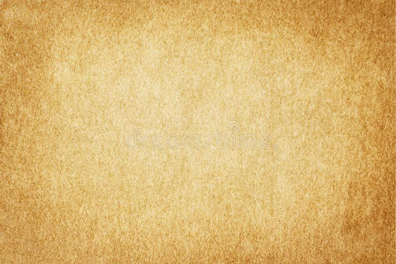 TŁO papieru GRUNGE STARA BROWN SZORSTKA tekstura royalty ilustracja