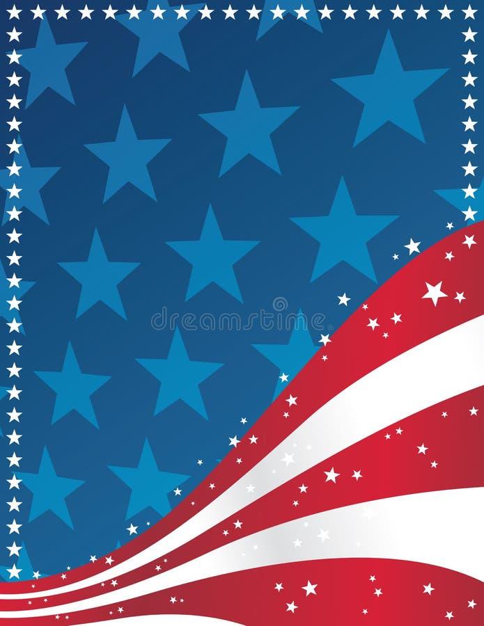 tło patriotyczny ilustracja wektor