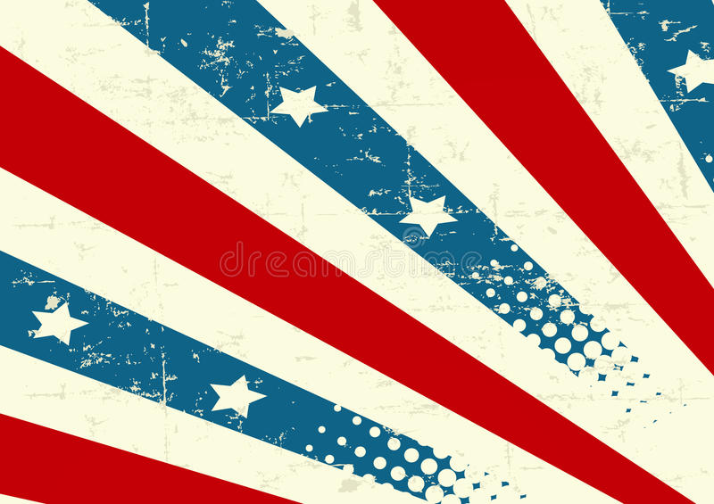 tło patriotyczny royalty ilustracja