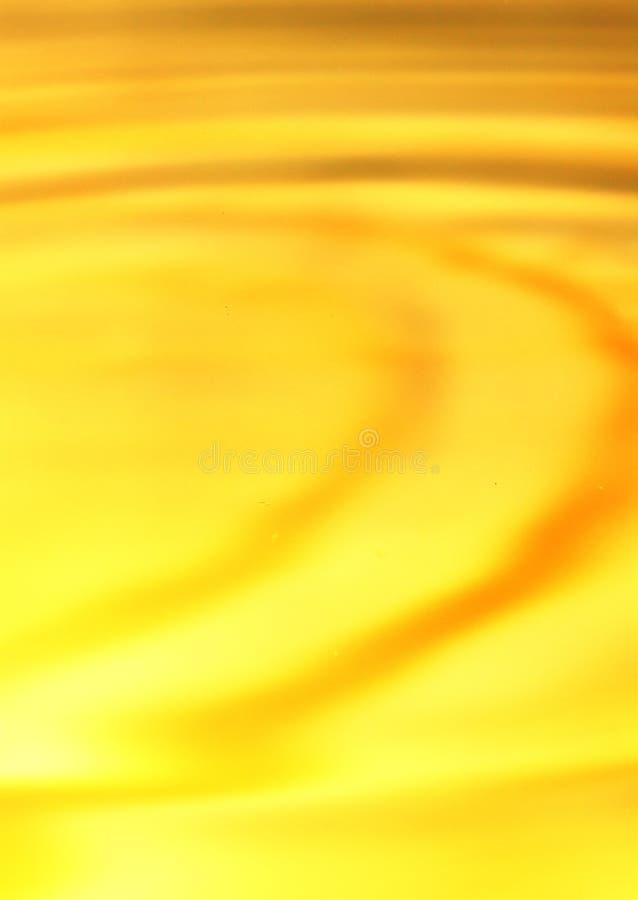 Tło piękna złota woda Makro- obraz royalty free